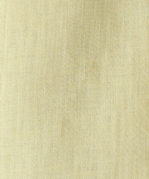 COMME CA / コムサ ノーカラージャケット | 麻 ノーカラー ジャケット | 詳細10