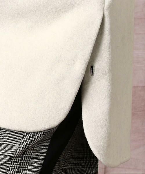 COMME CA / コムサ その他アウター | アンゴラショートフリース スタンドカラーコート | 詳細7