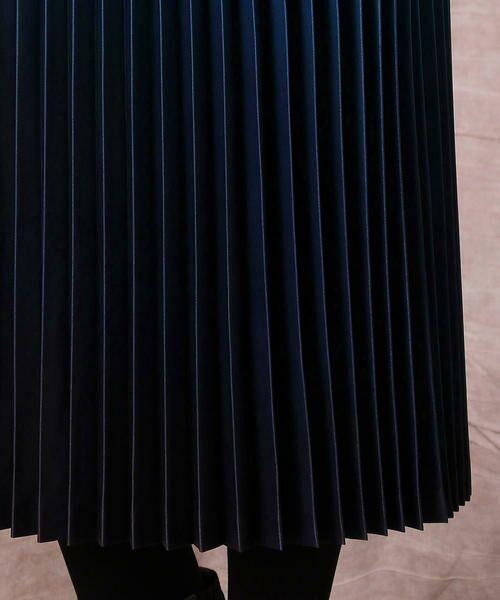 COMME CA / コムサ ロング・マキシ丈スカート | グラデーションプリントアコーディオンプリーツスカート | 詳細6