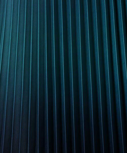 COMME CA / コムサ ロング・マキシ丈スカート | グラデーションプリントアコーディオンプリーツスカート | 詳細7