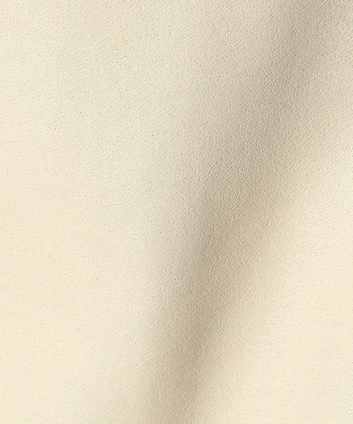 COMME CA / コムサ テーラードジャケット | フェイクレザーテーラードジャケット | 詳細11
