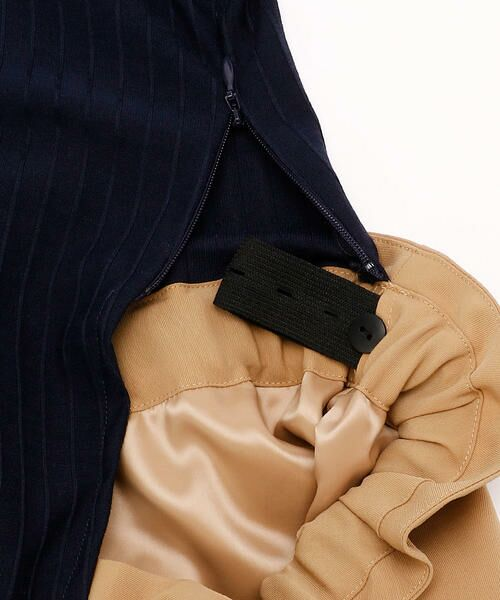 COMME CA BLANC D'OEUF / コムサブロンドオフ マタニティウェア | ドッキングドレス(マタニティ) | 詳細9