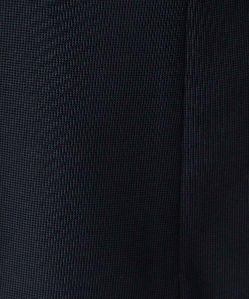 COMME CA BLANC D'OEUF / コムサブロンドオフ マタニティウェア | ミラノリブジャージダブルジャケット | 詳細10