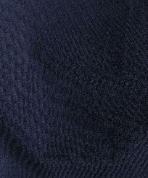 COMME CA BLANC D'OEUF / コムサブロンドオフ マタニティウェア | 8分袖Vネックカーディガン | 詳細9