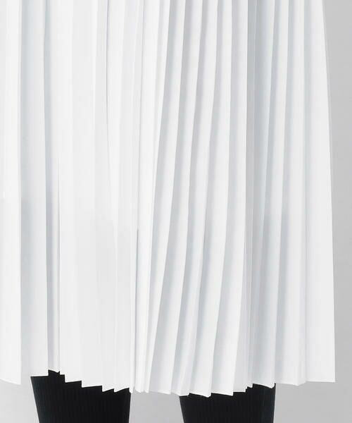 COMME CA BLANC D'OEUF / コムサブロンドオフ マタニティウェア | (マタニティ)スポーティー プリーツスカート | 詳細5