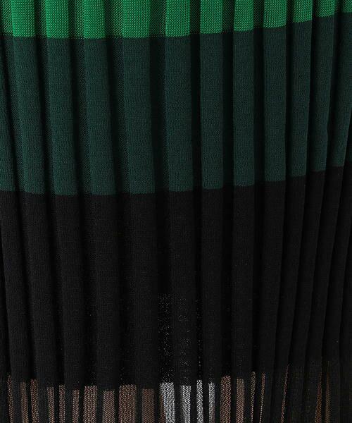 COMME CA BLANC D'OEUF / コムサブロンドオフ マタニティウェア | (マタニティ)マルチボーダー リブニットスカート | 詳細7