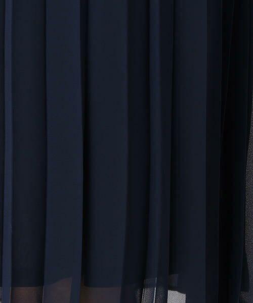 COMME CA BLANC D'OEUF / コムサブロンドオフ マタニティウェア | (マタニティ)プリーツ シフォンドレス | 詳細10