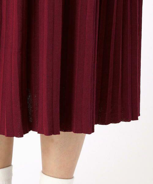 COMME CA BLANC D'OEUF / コムサブロンドオフ ロング・マキシ丈スカート | (マタニティ)アコーディオンプリーツ スカート | 詳細6
