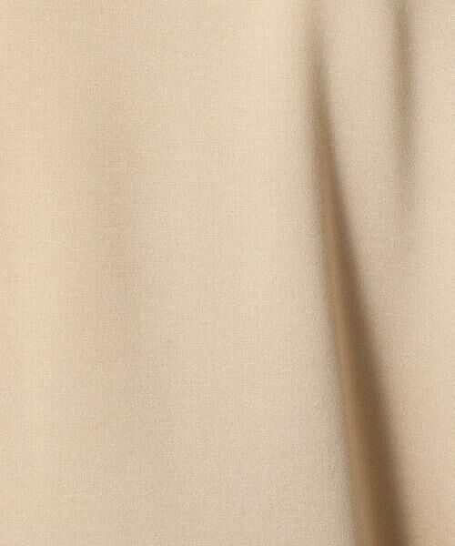 COMME CA BLANC D'OEUF / コムサブロンドオフ マタニティウェア | 〔マタニティ〕あったか素材 ブランドロゴ刺繍 Tシャツ ドレス | 詳細10