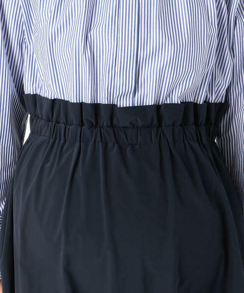 COMME CA BLANC D'OEUF / コムサブロンドオフ マタニティウェア | 〔マタニティ〕ブラウス+スカートドッキングドレス | 詳細7