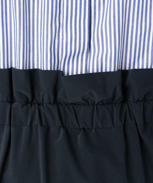 COMME CA BLANC D'OEUF / コムサブロンドオフ マタニティウェア | 〔マタニティ〕ブラウス+スカートドッキングドレス | 詳細9