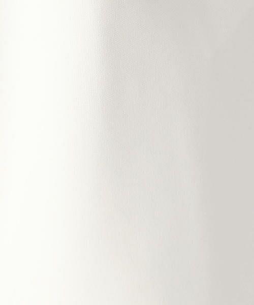COMME CA BLANC D'OEUF / コムサブロンドオフ マタニティウェア | 〔マタニティ〕マジックストレッチタックパンツ | 詳細7