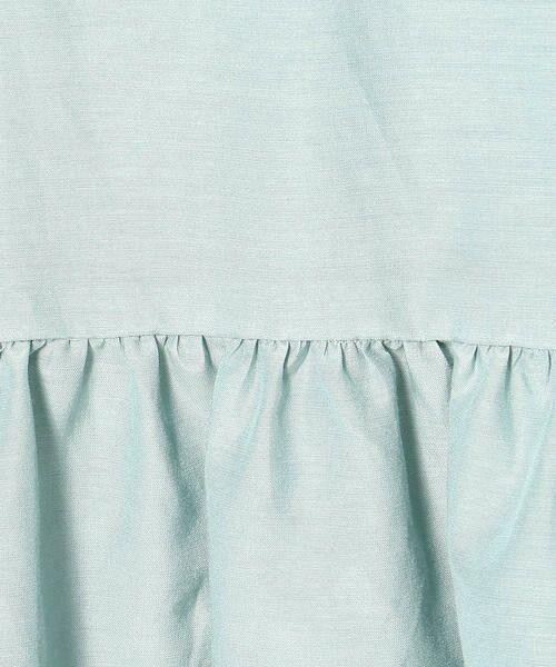 COMME CA BLANC D'OEUF / コムサブロンドオフ マタニティウェア | 〔マタニティ〕ギャザーフレアTシャツドレス | 詳細9