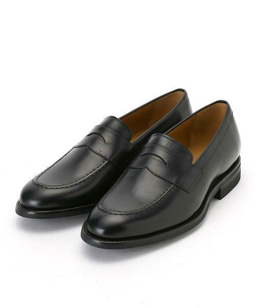 COMME CA COMMUNE / コムサコミューン ビジネス・ドレスシューズ | ローファー 革靴(ブラック)
