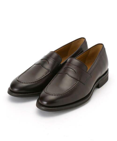 COMME CA COMMUNE / コムサコミューン ビジネス・ドレスシューズ | ローファー 革靴(ダークブラウン)