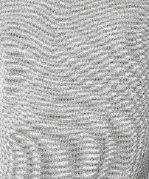 COMME CA COMMUNE / コムサコミューン ニット・セーター | シルケット タートルネック ニット | 詳細2