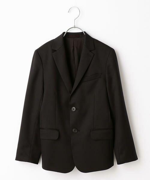 COMME CA FILLE / コムサ・フィユ セットアップ | 【ジュニアサイズ】ウールギャバジャケット(ブラック)