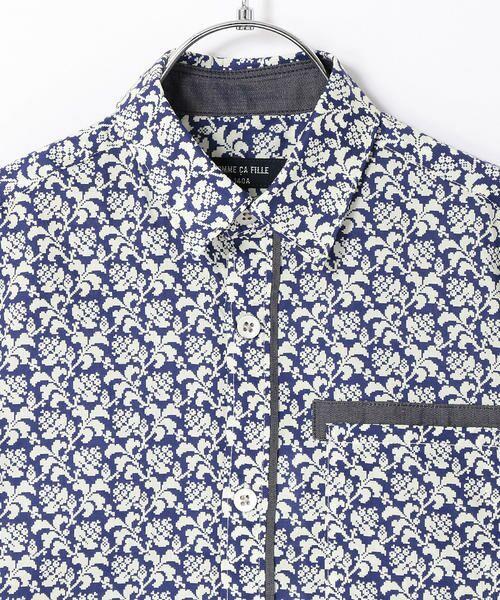 2ab01c0742ceb セール  ジュニアサイズ タナローンリンゴンベリープリントシャツ ...