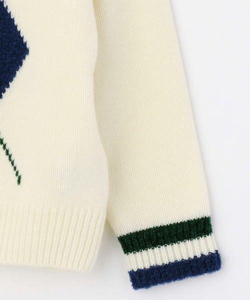 COMME CA FILLE / コムサ・フィユ ニット・セーター   アーガイル柄 プルオーバーニット   詳細3