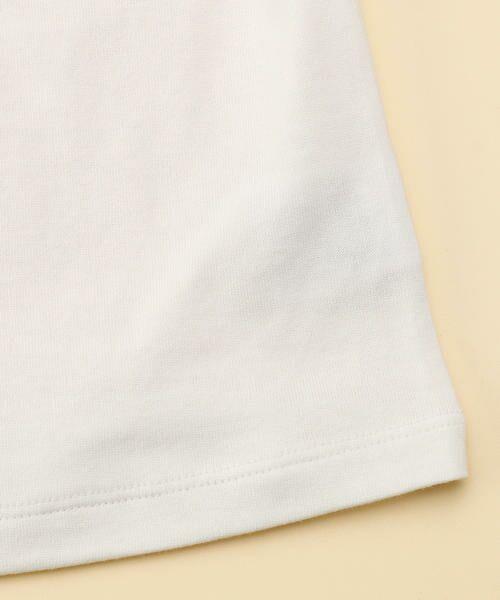 COMME CA FILLE / コムサ・フィユ ベビー・キッズウエア | レーシーストライプTシャツ | 詳細4
