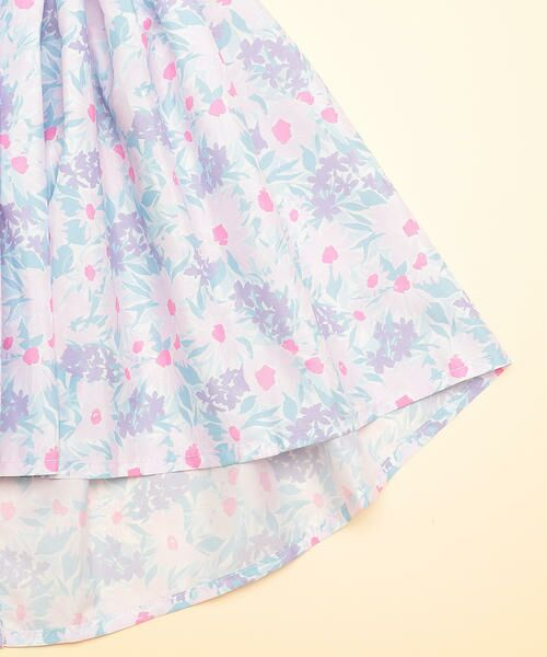 COMME CA FILLE / コムサ・フィユ ベビー・キッズウエア | 花柄エプロンドレス | 詳細7