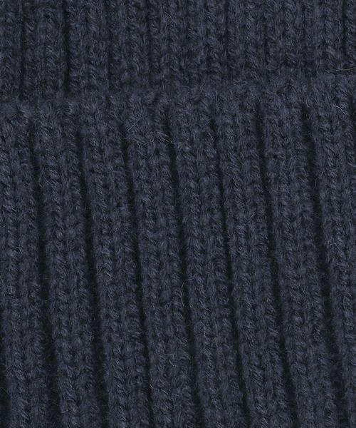COMME CA FILLE / コムサ・フィユ ニットキャップ | ポンポン付きニット帽 | 詳細5