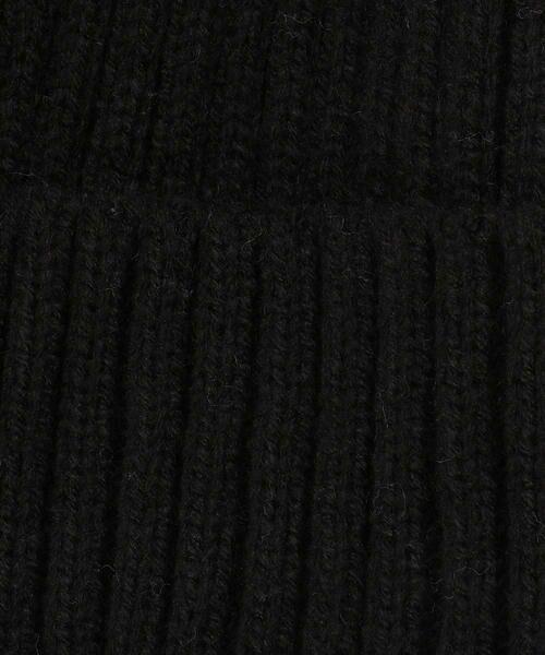 COMME CA FILLE / コムサ・フィユ ニットキャップ | ポンポン付きニット帽 | 詳細9