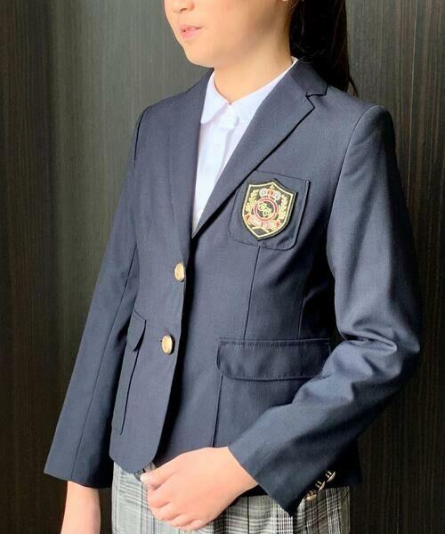 59994e6dba33c 女の子用紺ブレ(110~130cm) (セットアップ) COMME CA ISM ...
