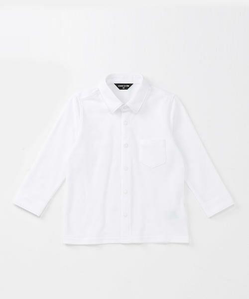 COMME CA ISM / コムサイズム シャツ・ブラウス | ネクタイ付きシャツ(90~130cm) | 詳細1