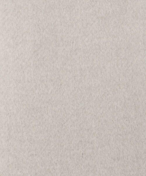 COMME CA ISM / コムサイズム ステンカラーコート | ビッグラペル コクーン チェスターコート | 詳細1