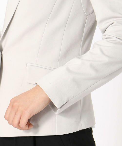 COMME CA ISM / コムサイズム テーラードジャケット | <日本素材> ジャージー テーラード ジャケット | 詳細6