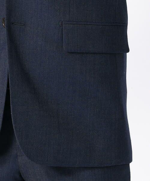 ba3e3789b0a82 セットアップ》 クールマックス デニムルック スーツジャケット ...