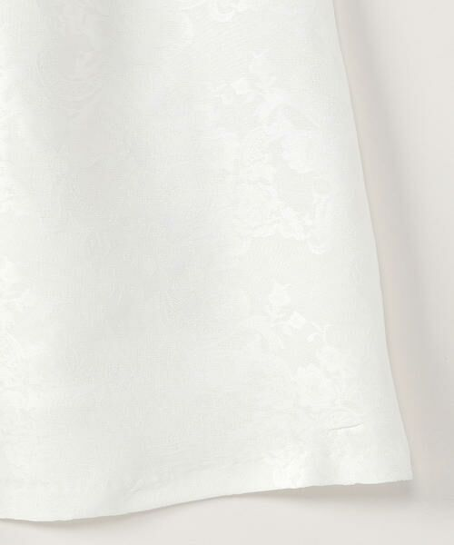 COMME CA ISM / コムサイズム ロング・マキシ丈ワンピース | リボン付 花柄 ノースリーブ ワンピース(140cm-160cm)【オケージョン・フォーマル・お呼ばれ】 | 詳細4