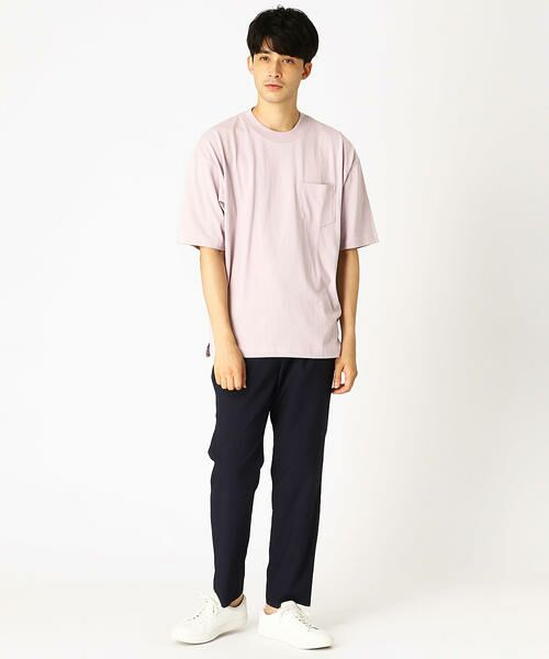 COMME CA ISM / コムサイズム Tシャツ   日本の伝統色 ポケット付 Tシャツ   詳細3