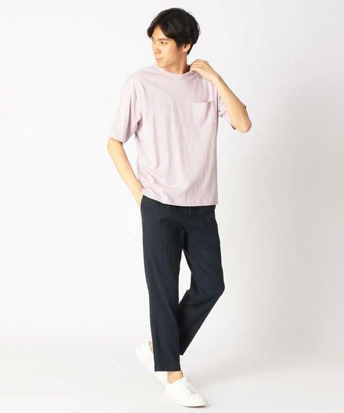 COMME CA ISM / コムサイズム Tシャツ   日本の伝統色 ポケット付 Tシャツ   詳細7