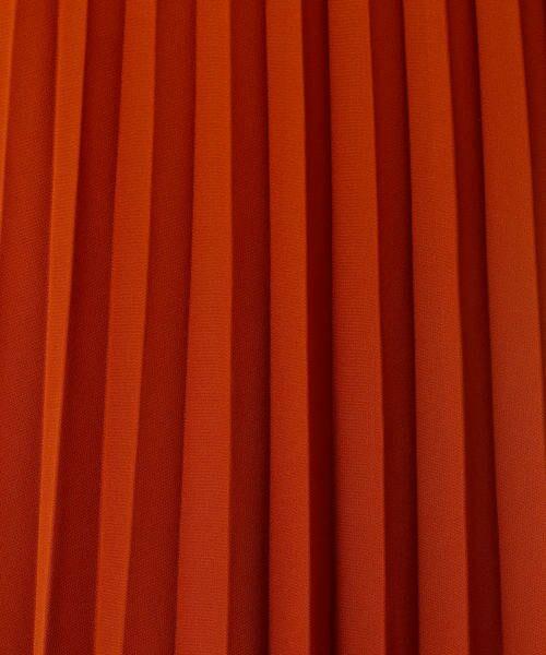 COMME CA ISM / コムサイズム ロング・マキシ丈スカート | シフォンプリーツスカート | 詳細12