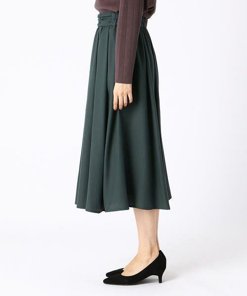 COMME CA ISM / コムサイズム ロング・マキシ丈スカート | ギャザースカート | 詳細4