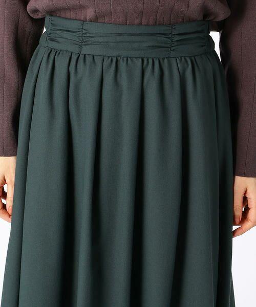 COMME CA ISM / コムサイズム ロング・マキシ丈スカート | ギャザースカート | 詳細6