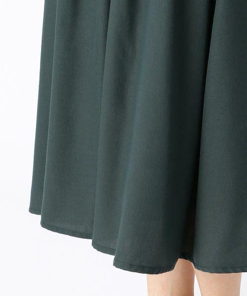 COMME CA ISM / コムサイズム ロング・マキシ丈スカート | ギャザースカート | 詳細7