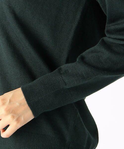 COMME CA ISM / コムサイズム カーディガン・ボレロ | Vネック  ニットカーディガン | 詳細12