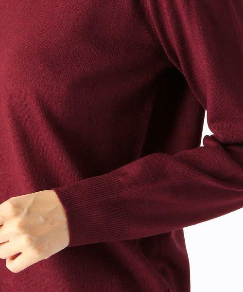 COMME CA ISM / コムサイズム ニット・セーター | Vネック ニットプルオーバー | 詳細12