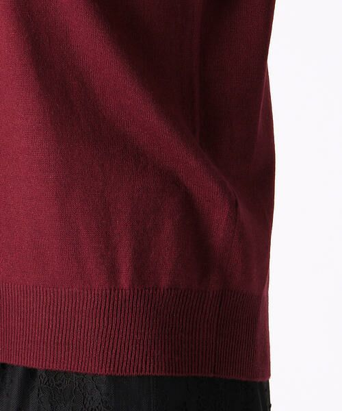 COMME CA ISM / コムサイズム ニット・セーター | Vネック ニットプルオーバー | 詳細13