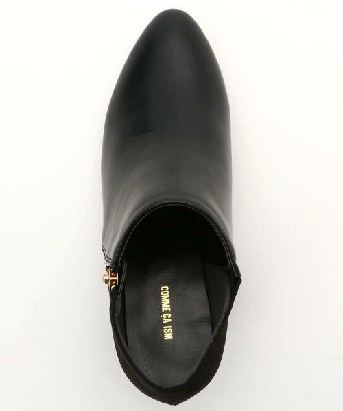 COMME CA ISM / コムサイズム ブーツ(ショート丈) | サイドファスナー ブーティー | 詳細3