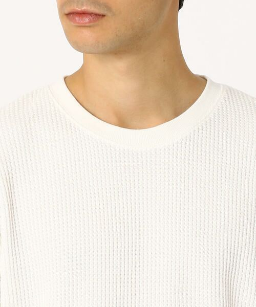 COMME CA ISM / コムサイズム Tシャツ | ワッフル ビッグTシャツ | 詳細5
