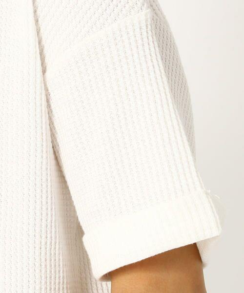 COMME CA ISM / コムサイズム Tシャツ | ワッフル ビッグTシャツ | 詳細6