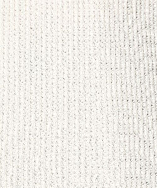 COMME CA ISM / コムサイズム Tシャツ | ワッフル ビッグTシャツ | 詳細8