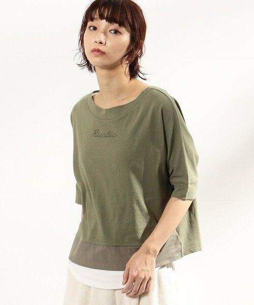COMME CA ISM / コムサイズム Tシャツ | ロゴプリント セットTシャツ(ONIGIRI) | 詳細6