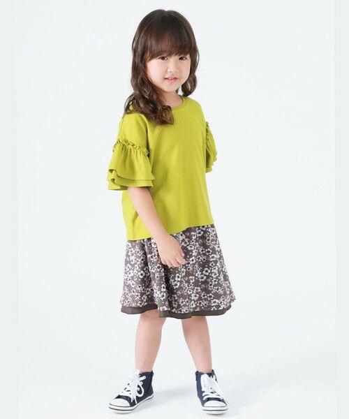 COMME CA ISM / コムサイズム Tシャツ | フリル袖 半袖Tシャツ | 詳細3