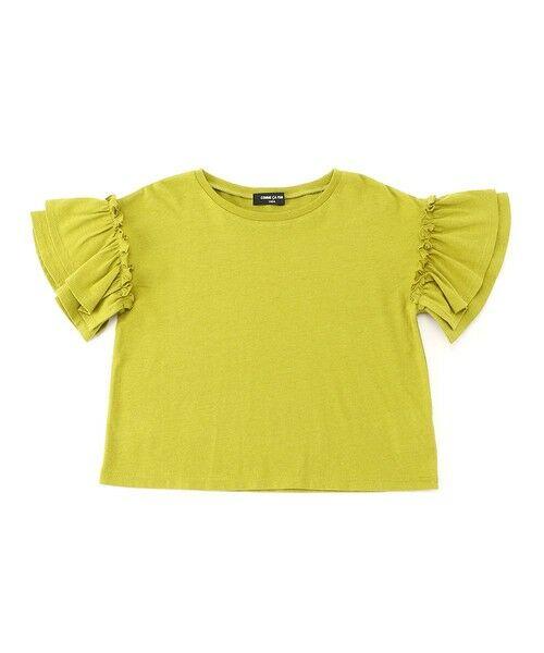COMME CA ISM / コムサイズム Tシャツ | フリル袖 Tシャツ | 詳細4