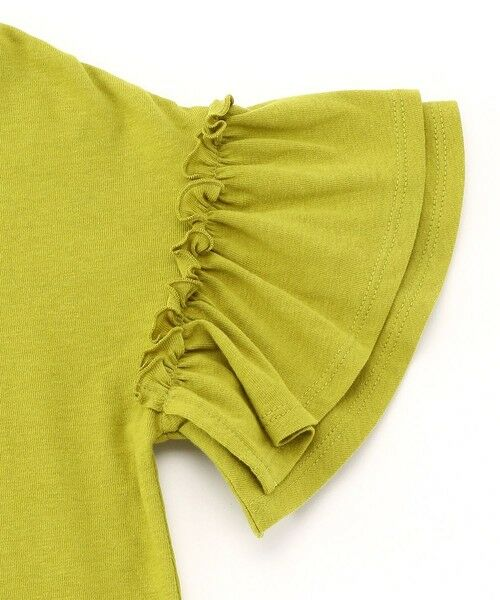 COMME CA ISM / コムサイズム Tシャツ | フリル袖 Tシャツ | 詳細7